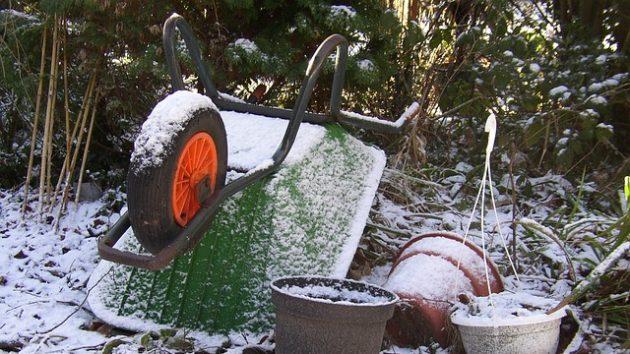 Garten und Geräte winterfest machen